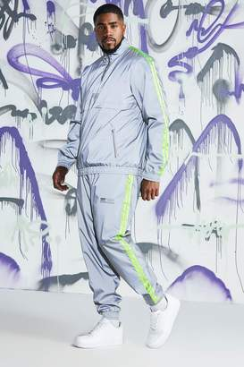 Big & Tall Quavo Reflective Cagoule With Tape
