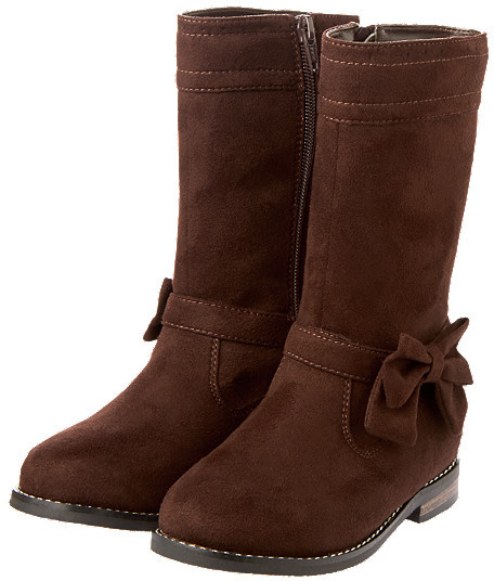 Gymboree Bow Suede Boot