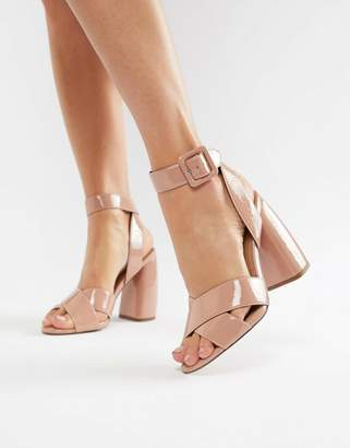 Asos DESIGN Hedge Your Bets Heeled Sandals