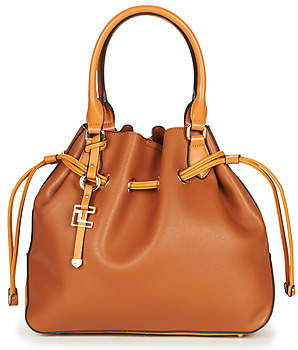 Ted Lapidus BADALONA women's Shoulder Bag in Brown