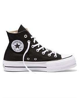 Converse Chuck Taylor All Star Lift - Hi - Black/Garnet/White