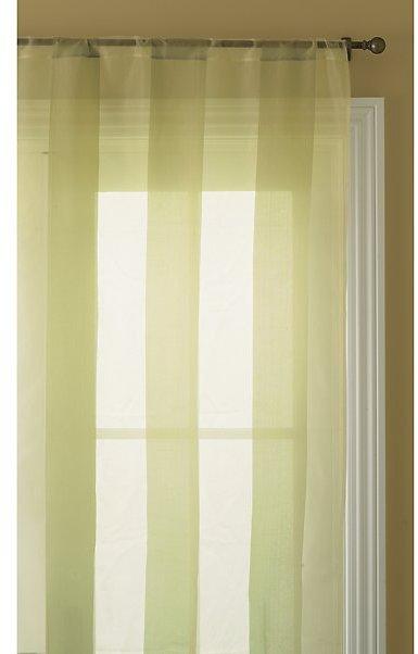 Shadow Stripe Silk Drapery