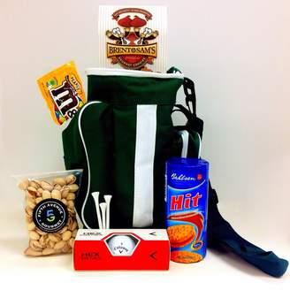 E.m. Fifth Avenue Gourmet Hit 'em Straight Golf Bag Cooler Gift Basket