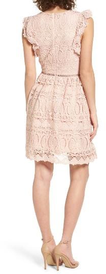 Women's J.o.a. Lace Fit & Flare Dress 5