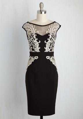 little mistress All Swanky-ed Up Sheath Dress $129.99 thestylecure.com