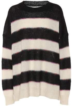 Etoile Isabel Marant Isabel Marant, étoile Reece striped mohair-blend sweater