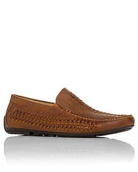 Florsheim Cooper Woven Front Moccasin