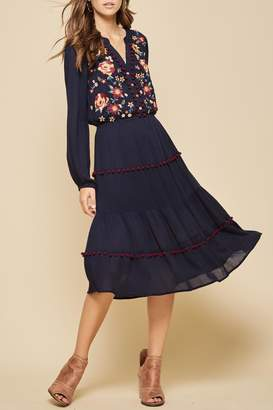 Andree By Unit Bohemian Embroidered Dress