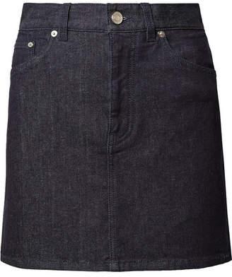 Givenchy Denim Mini Skirt - Dark denim