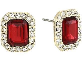Lauren Ralph Lauren Post Stone Stud Earrings