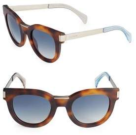 Tommy Hilfiger Tortoise Butterfly UV Protected Sunglasses