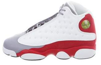 Jordan 13 Retro Grey Toe Sneakers