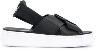 Puma platform sandals