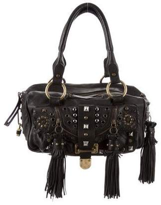 Barbara Bui Leather Studded Bag