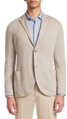 Loro Piana Textured Classic Jacket