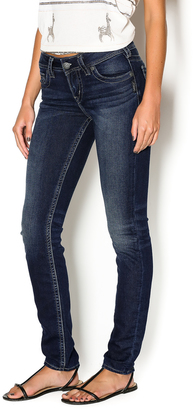 Silver Jeans Co. Suki Mid Skinny $89 thestylecure.com