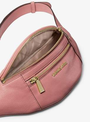 a699aa9785ea5d MICHAEL Michael Kors Medium Leather Belt Bag
