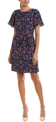 Rebecca Taylor Woodland Silk Shift Dress