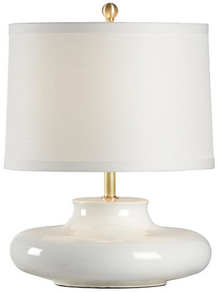 Chelsea House Gainsboro Porcelain Table Lamp - White