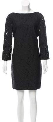 Diane von Furstenberg Floral Lace Long Sleeve Dress w/ Tags