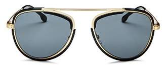 Versace Men's Brow Bar Aviator Sunglasses, 42mm