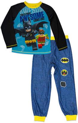 Lego 2pc Batman Pajama Set- Boys