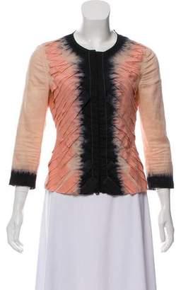 Prada Tie-Dye Lightweight Jacket