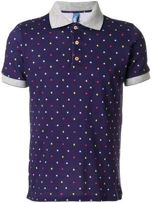 fe-fe Pacman polo shirt