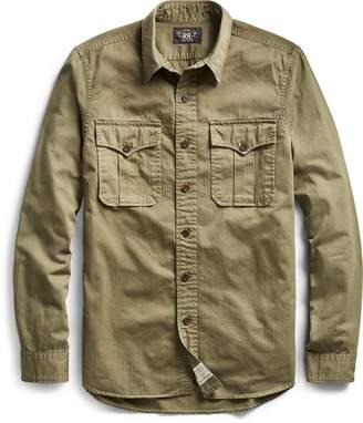 Ralph Lauren Cotton Herringbone Twill Shirt