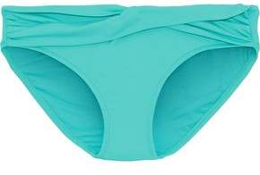 Twist-Front Low-Rise Bikini Briefs