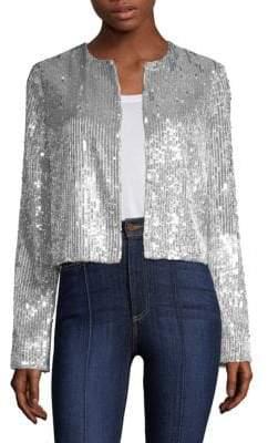 Alice + Olivia Kidman Sequin Jacket