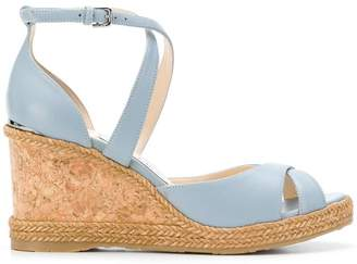 Jimmy Choo Alanah 80 wedge sandals