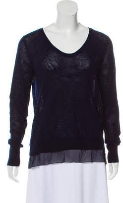 Vince Wool-Cashmere Knit Sweater