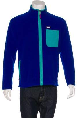 Patagonia Zip-Up Fleece Sweater