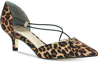 Adrianna Papell Lacy Evening Pumps Women's Shoes