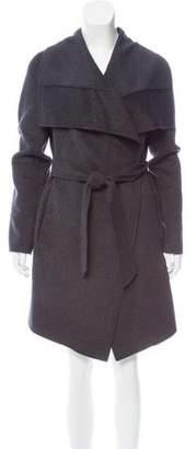Diane von Furstenberg Stacy Wool-Blend Coat