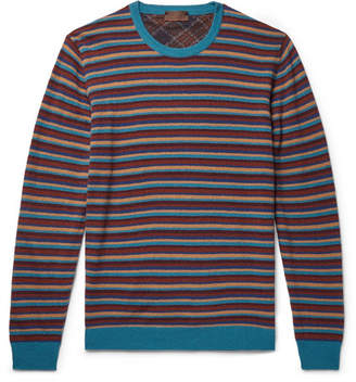 Altea Striped Wool-Blend Sweater