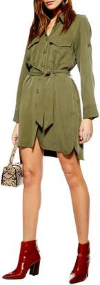 Topshop Utility Shirtdress