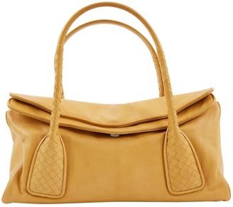Bottega Veneta Camel Leather Handbag
