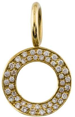 Ippolita Diamond Stardust Small Wavy Circle Pendant