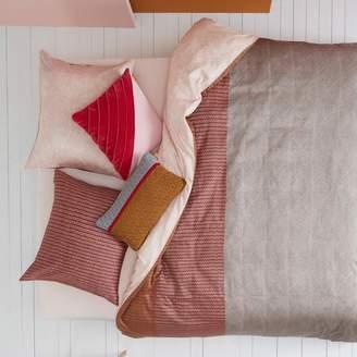 Oilily Pale Blush & Sand Cotton Sateen Quilt Cover Set