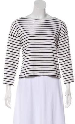 AllSaints Striped Long Sleeve Top