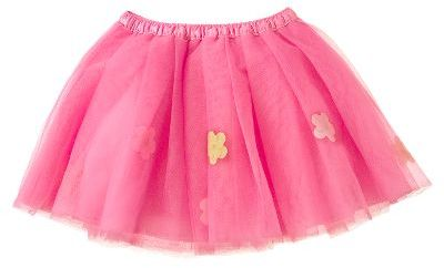 Flower Tulle Skirt