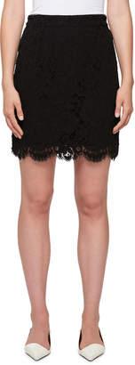 Proenza Schouler Scalloped Lace Mini Skirt