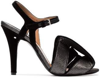 Laurence Dacade Shady glitter bow sandals