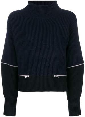 Dondup zipped detail jumper