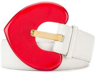 Saint Laurent Pre-Owned Heart belt