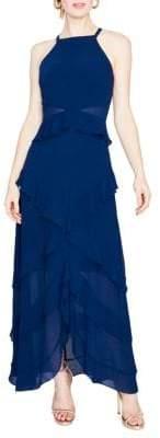 Rachel Roy April Tiered Chiffon Maxi Dress