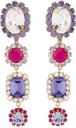 Dolce & Gabbana Crystal Embellished Earrings