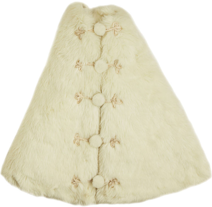 Arcadia Faux Fur Tree Skirt